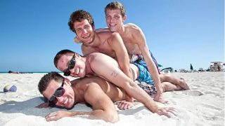 GAYWIRE – Vince Ryan, Spencer Fox, Daniel Freeman and Swiss Having A Fun Day Out